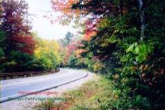 Colorful Fall Foliage Drive on the Kancamagus Hwy
