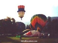 Pocono Mountains Hot Air Balloon Festival Launch