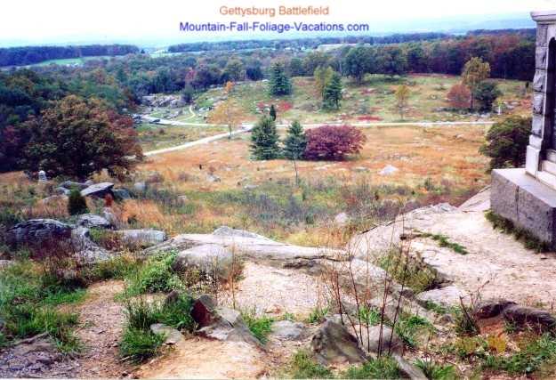 Gettysburg Battle Area Countryside