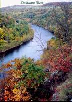 Delaware River Fall Foliage