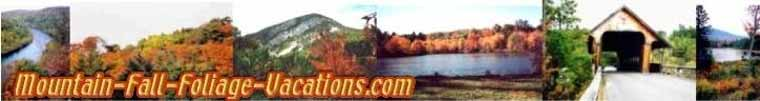 Mountain Fall Foliage Vacations Home Page - this page
