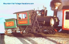 Cog RR Engine with angled boiler - Mt Washington RR