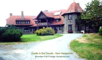 Castle in the Clouds - New Hampshire Fall Foliage Vacations