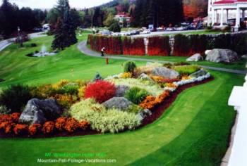 Mt Washington Hotel landscaping
