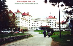 New Hampshire Mt Washington Hotel -Resort
