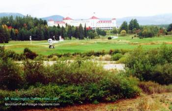 Mount Washington Hotel Resort from the highway