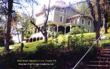 Asa Packer Mansion in Jim Thorpe, PA