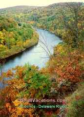 Pocono Mountains Vacations - Delaware Water Gap Area