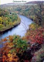 Delaware River Fall Foliage