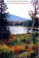 Autumn Color - New Hampshire Fall Foliage Vacation