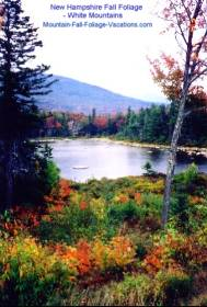 New Hampshire Fall Foliage - White Mountains