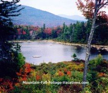 New Hampshire Romantic Lilly Pond View