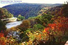 Pennsylvania Delaware Water Gap Fall Foliage Vacation Color