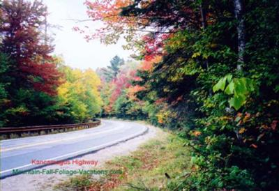 Colorful Fall Foliage Scenic Drive